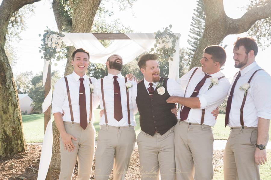 groom-and-groomsmen-photo, Tampa-wedding-photographer