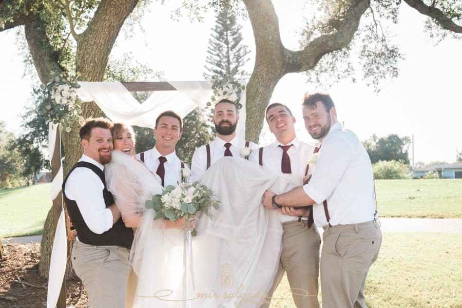 Tampa-photographer, bridal-party-photo, Bradenton-wedding