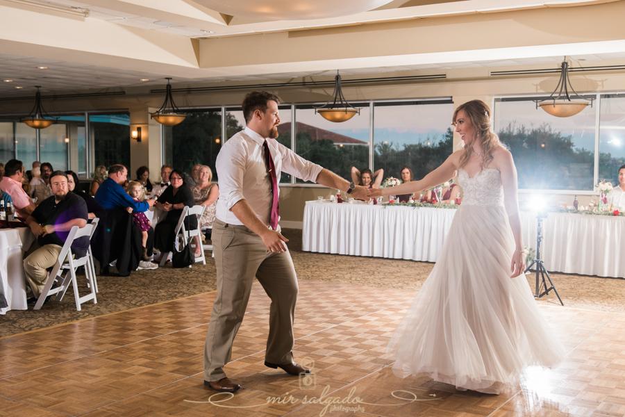 Bradenton-wedding-reception, fist-dance