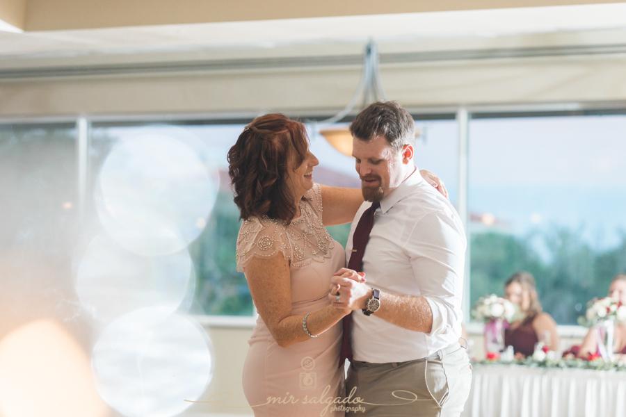 Mother-and-son-dance, Bradenton-wedding-photo