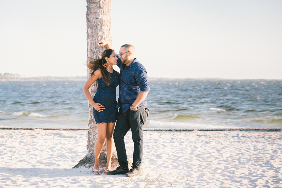 Tampa-beach-engagement-session, Tampa-beach-couple, Tampa-photographer