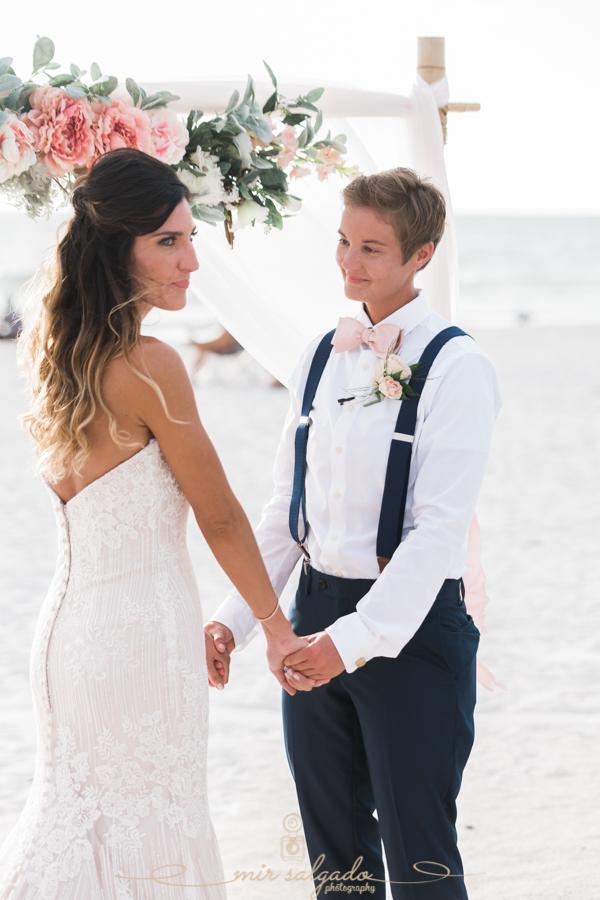Florida-beach-wedding, same-sex-wedding-photo