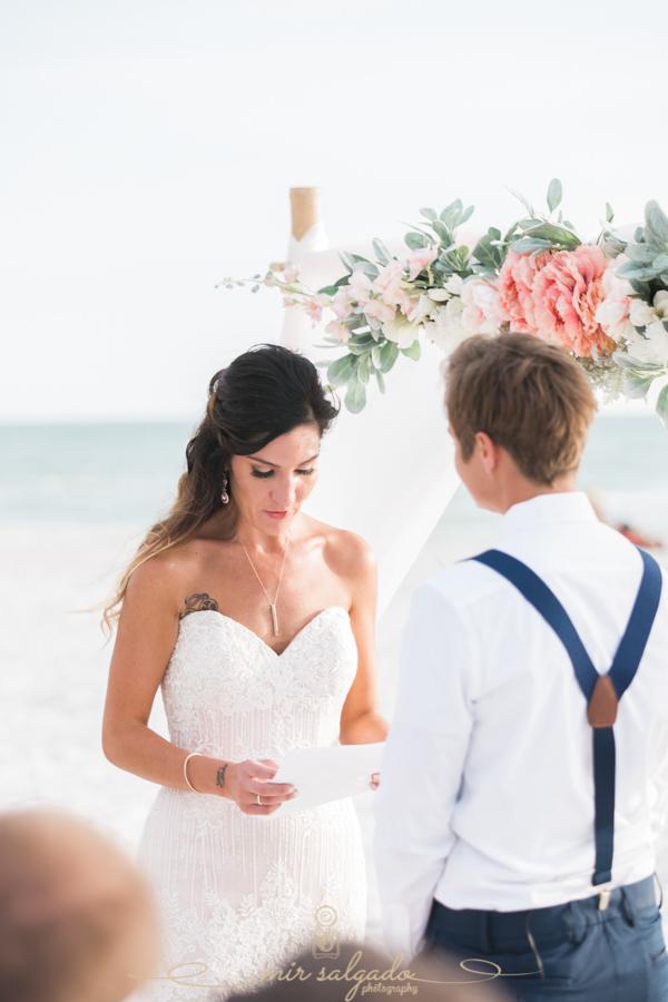 St.Pete-beach-wedding-ceremony, Florida-beach-wedding