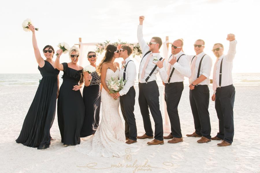 bridal-party-photo, St.Pete-wedding-photographer
