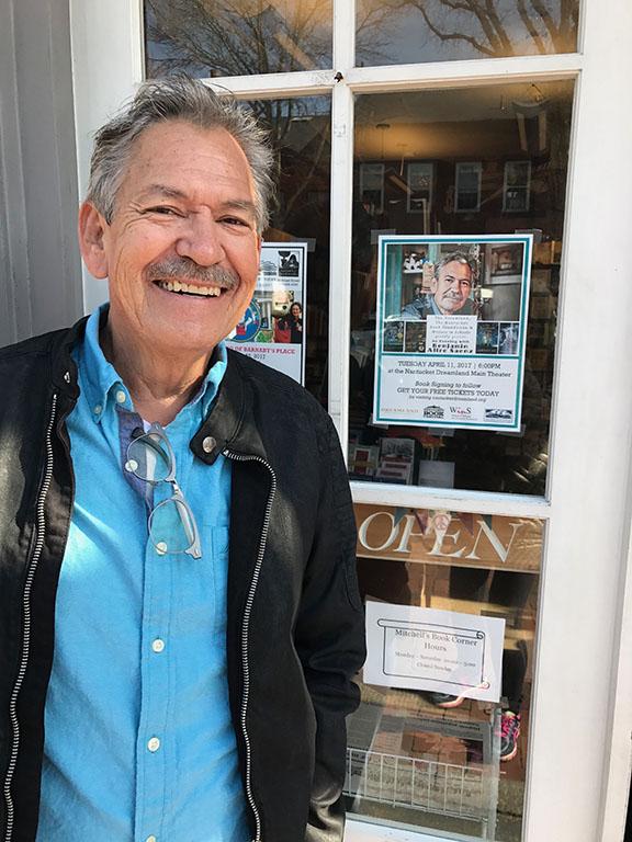 Benjamin Alire Saenz at Mitchell's Book Corner