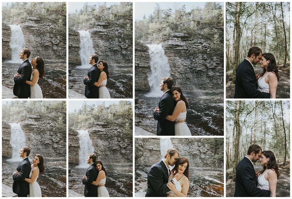New York Bridal Session, Hudson Valley Bridal Session, New York Wedding Photographer, New York Couples Photographer, Bridal Session at Minnewaska State Park
