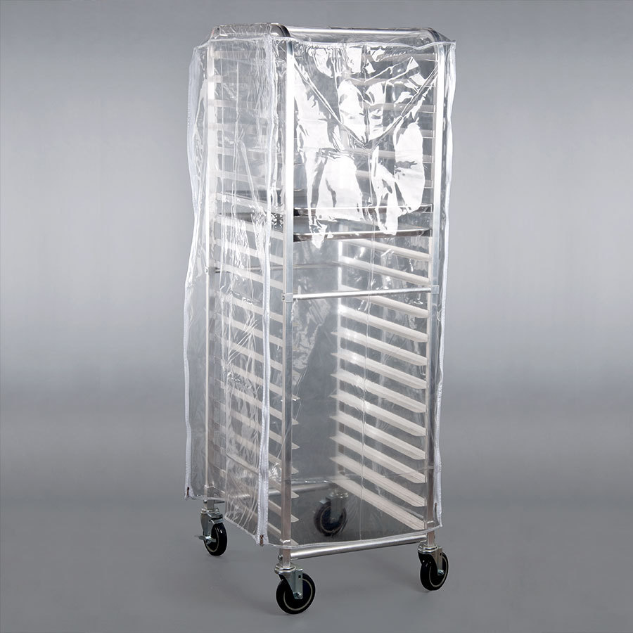 clear plastic rack cover for 20 tier sheet pan rack