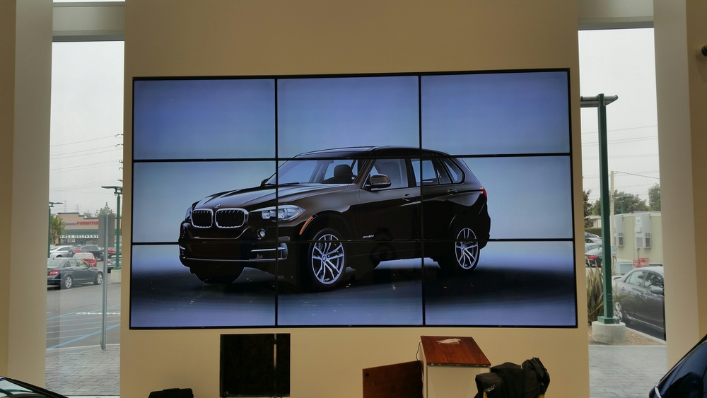 BMW Mega Video Wall