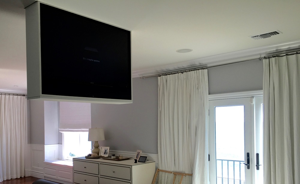 Ceiling TV Lift