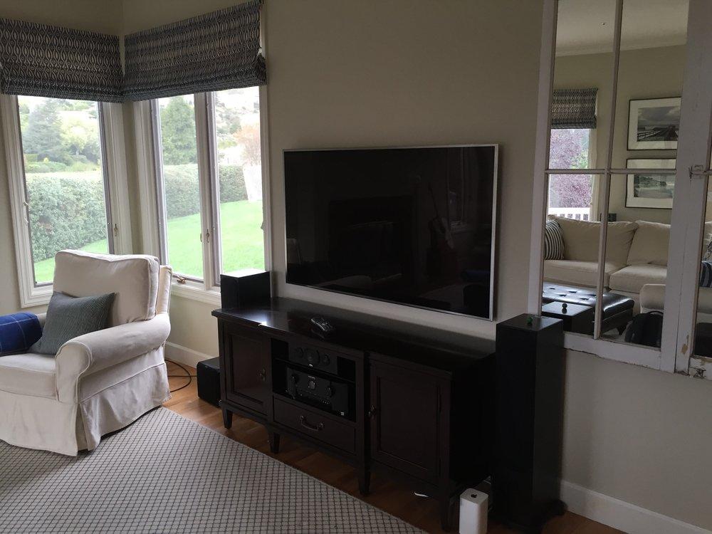 Simple Television Setup