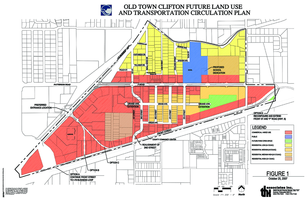 Circulation Service Inc : Old town clifton overlay district and transportation