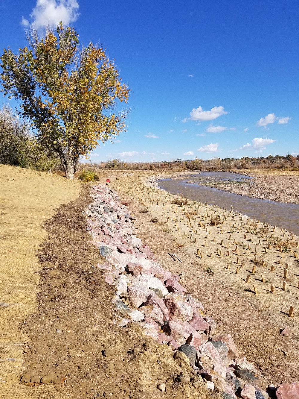 Fountain Creek Restoration at SH 47