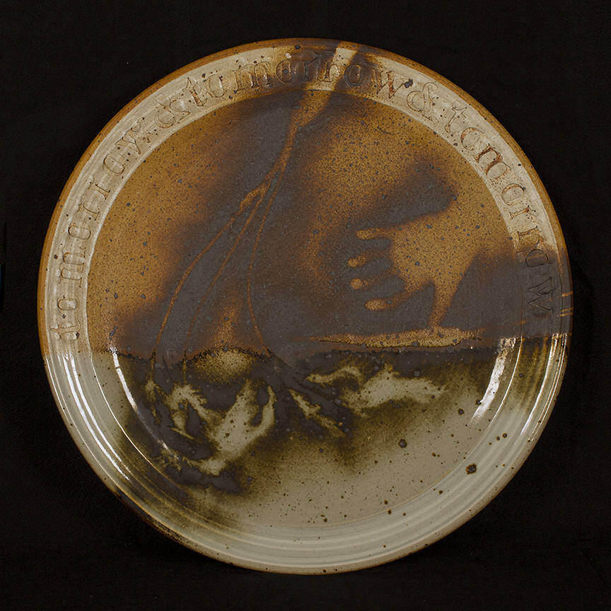 Platter 1: purchase for $3,500 Stonware (circa mid-1980s)