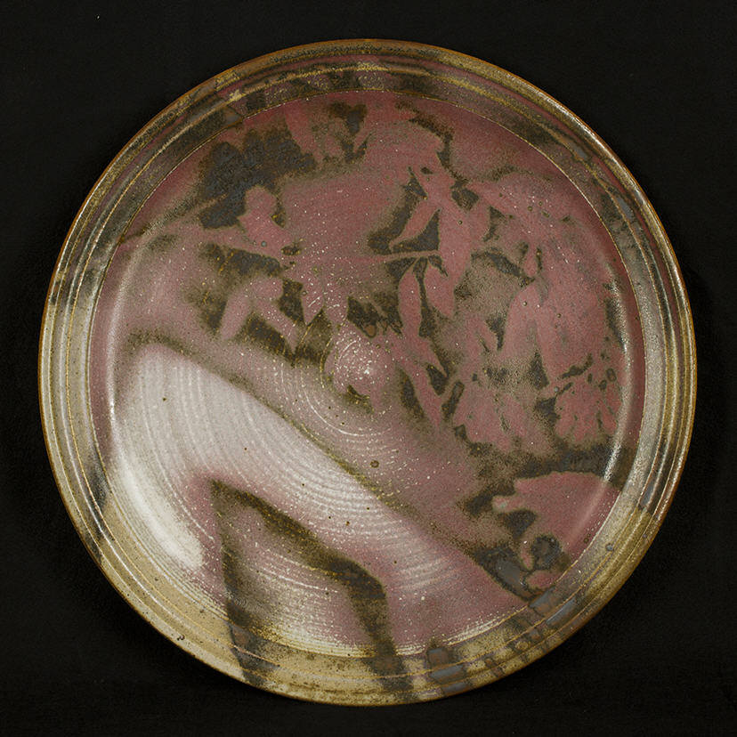 Platter - Even While the Dust Moves: purchase for $3,500 Stoneware (circa mid-1980s)