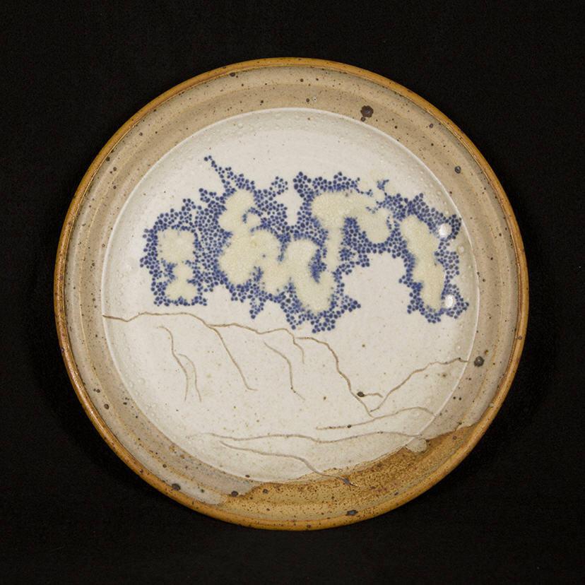 Penada Landscape Plate 1: purchase for $650 Stoneware (circa mid 1980s-1990s)