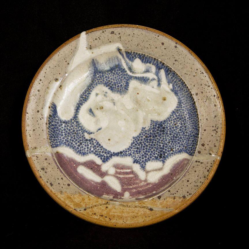 Penada Landscape Plate 2: purchase for $650 Stoneware (circa mid 1980s-1990s)