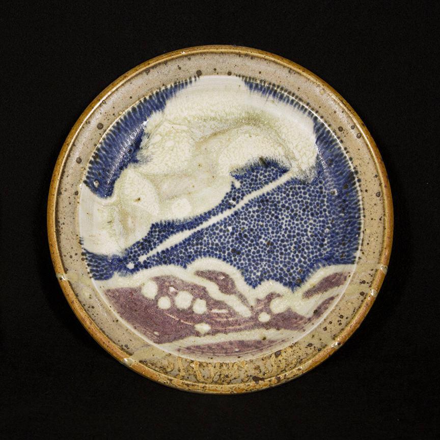 Penada Landscape Plate 3: purchase for $650 Stoneware (circa mid-1980s-1990s)