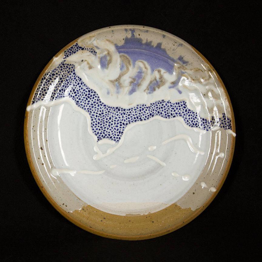 Penada Landscape Plate 6: purchase for $650 Stoneware (circa mid-1980s-1990s)