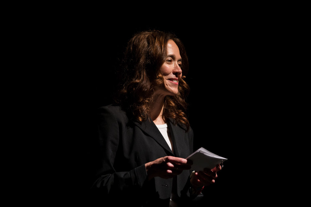 Executive Director Kristin Windbigler welcomes everyone to the Keynote Address. Photo by Jessica Brandi Lifland.