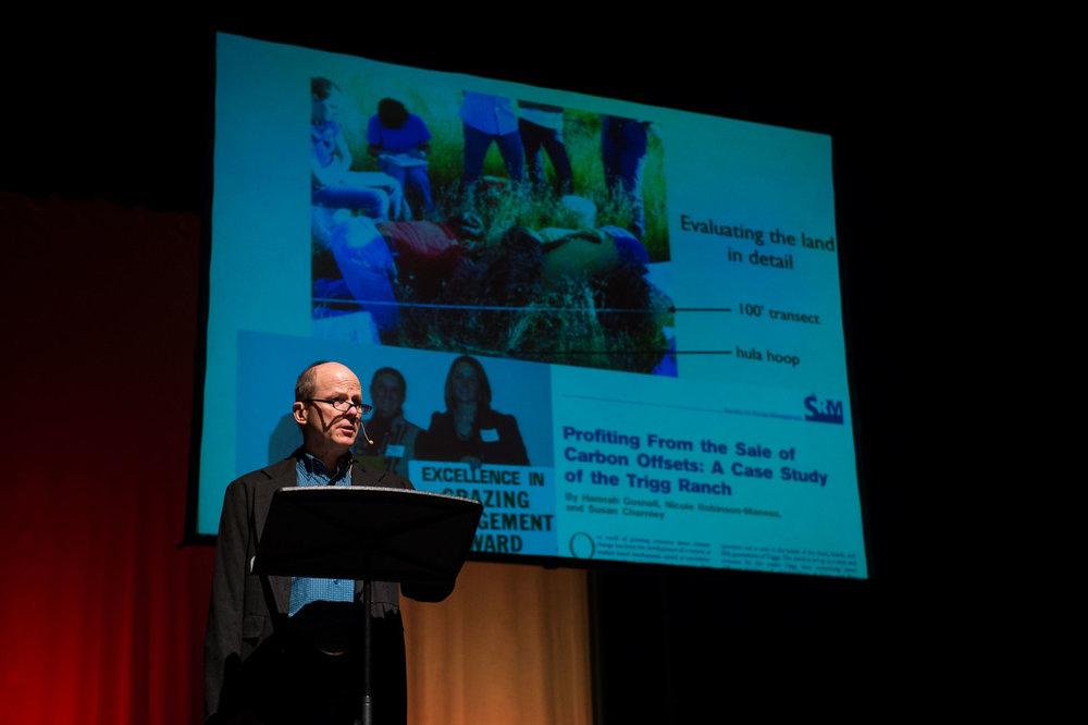 Eric Trigg, a Keynote Speaker. Photo by Jessica Brandi Lifland.