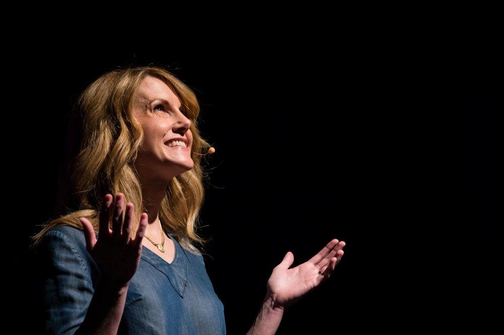 Emily Nielson, a Keynote Speaker. Photo by Jessica Brandi Lifland.