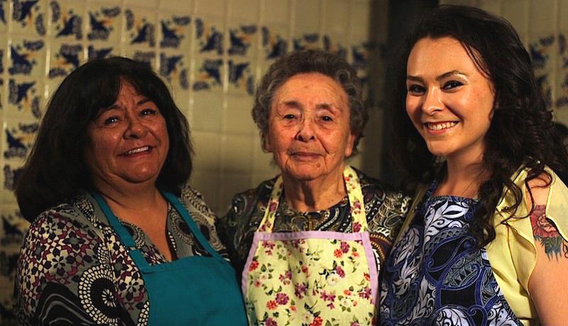 Priscilla Romo, Benita Martinez and Olivia Romo