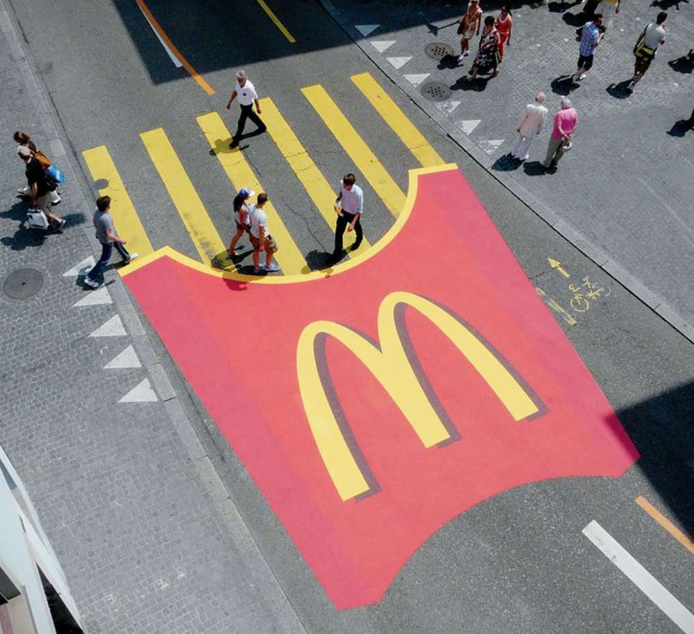 mac donald's guerrilla marketing alternatif