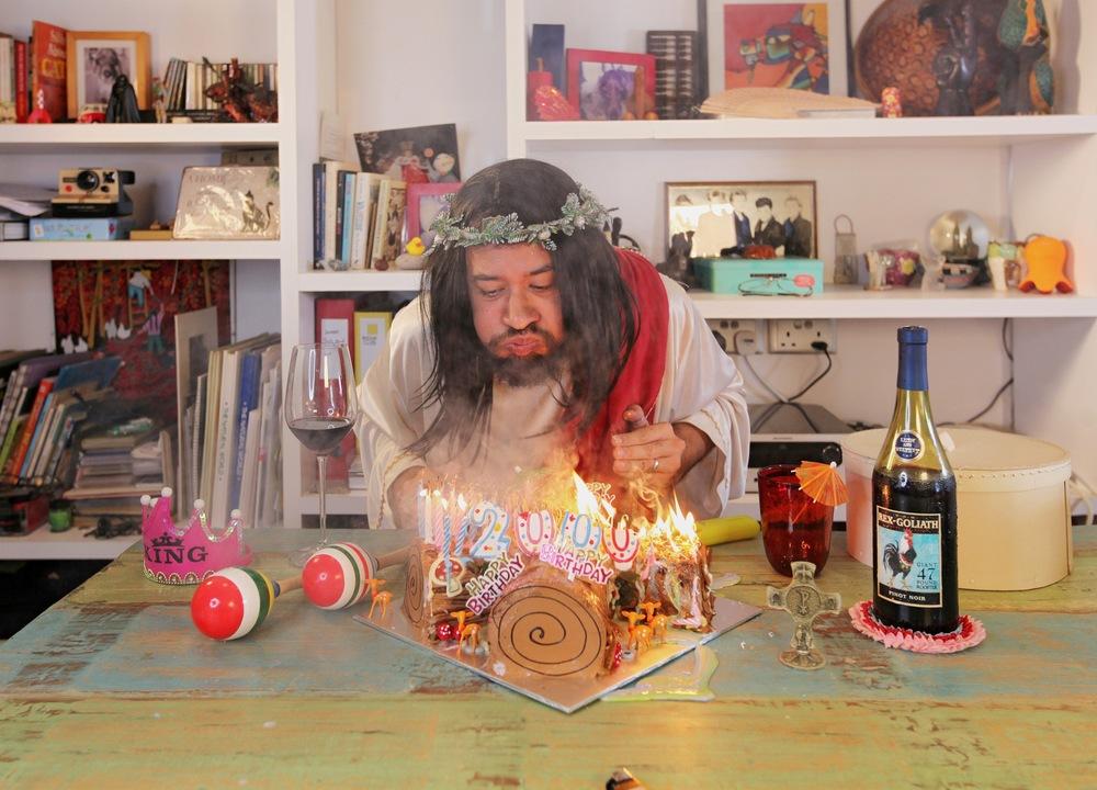 Happy Birthday Jesus (2016) by Eugene Soh