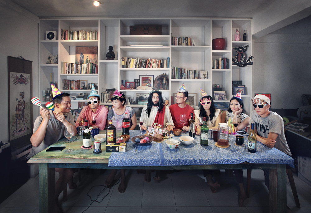 The Last Christmas (2016) by Eugene Soh. Featuring our friends who really only turned up for a drinks party!