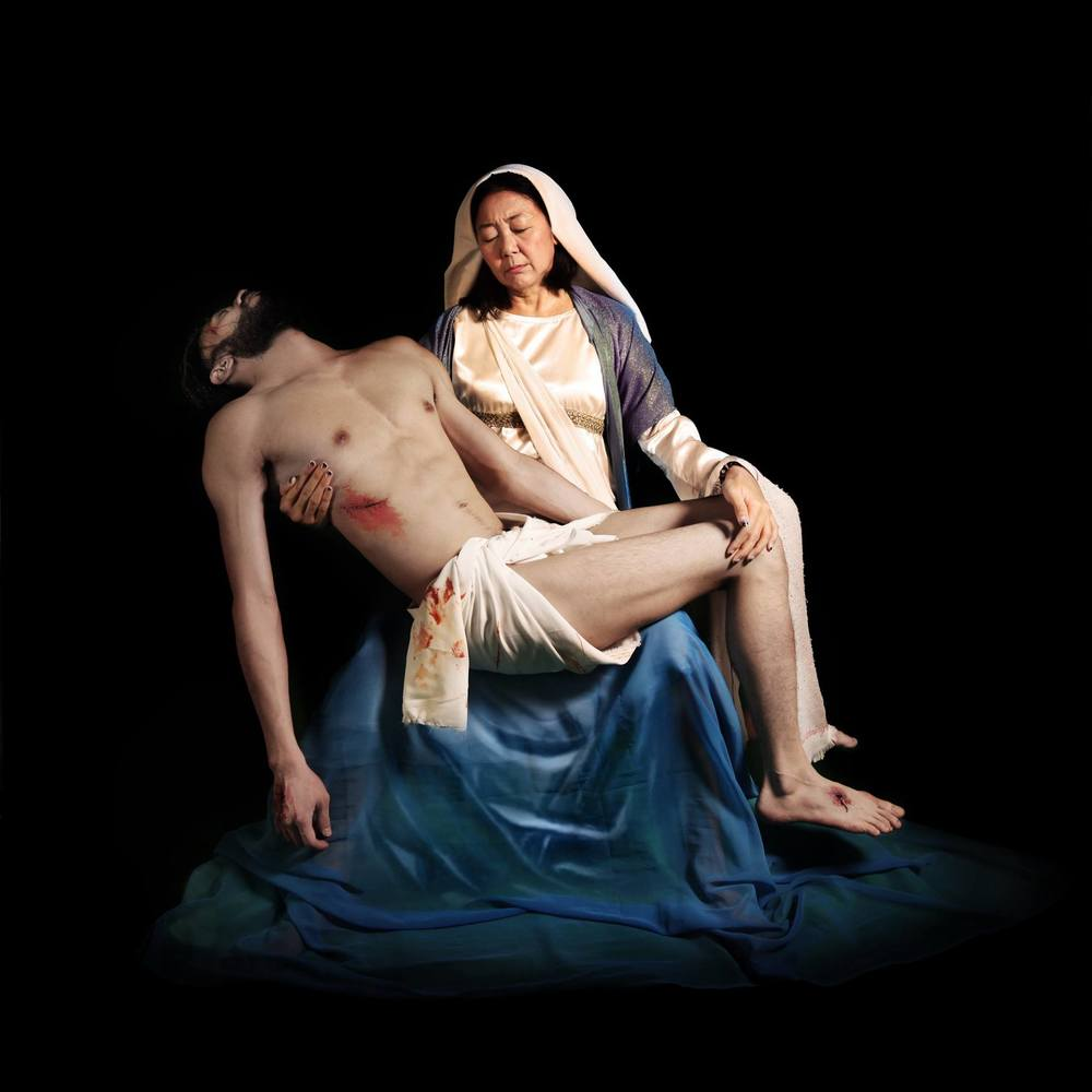 Madonna and Child (Pieta) (2016) by Eugene Soh