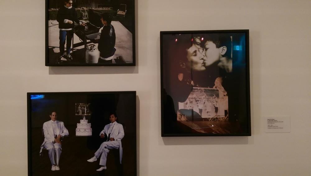 """Reframing The Family #1, #4 and #5"", Hanh Thi Pham. Photo: Carol"