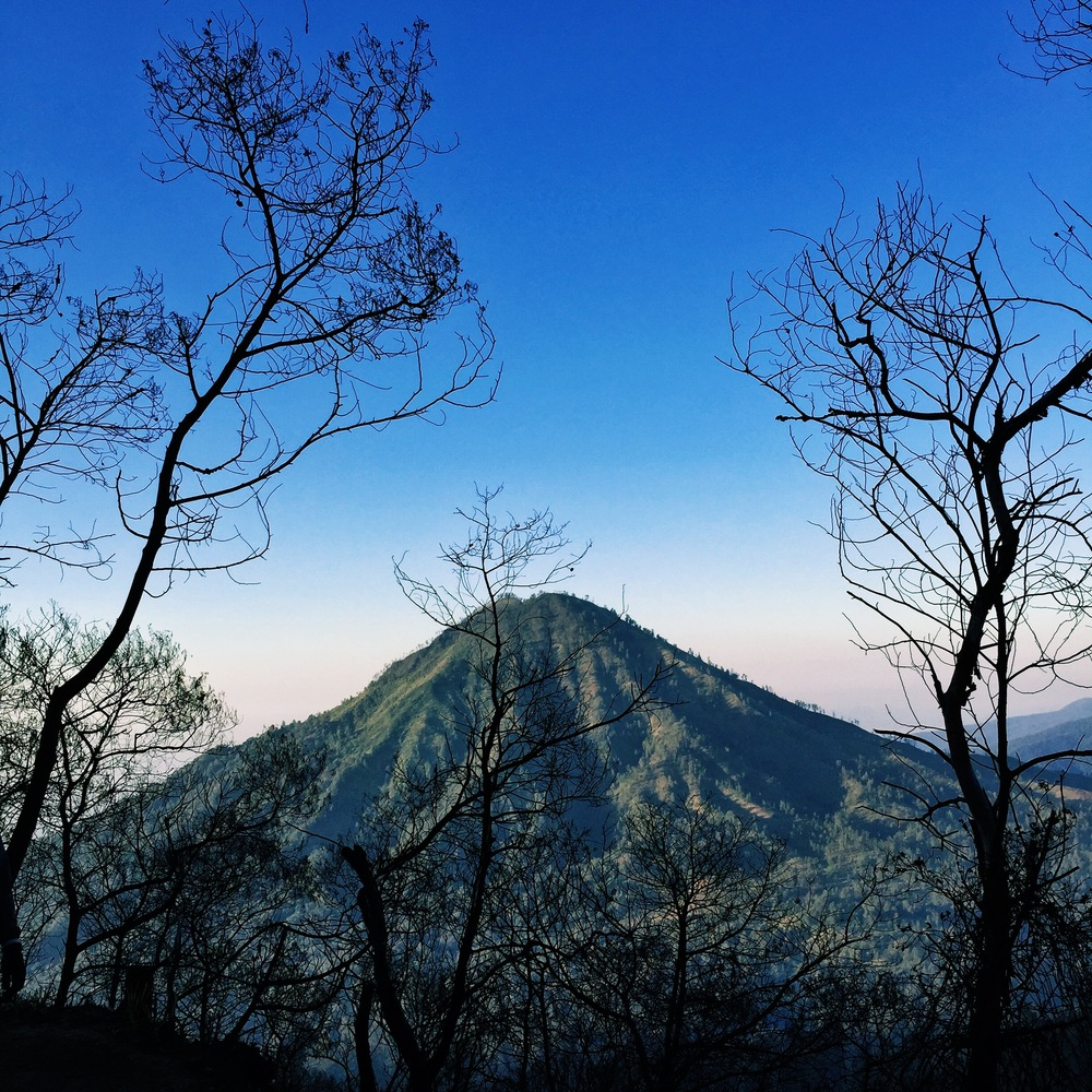 Mt. Ijen. Photo credit mrbrown