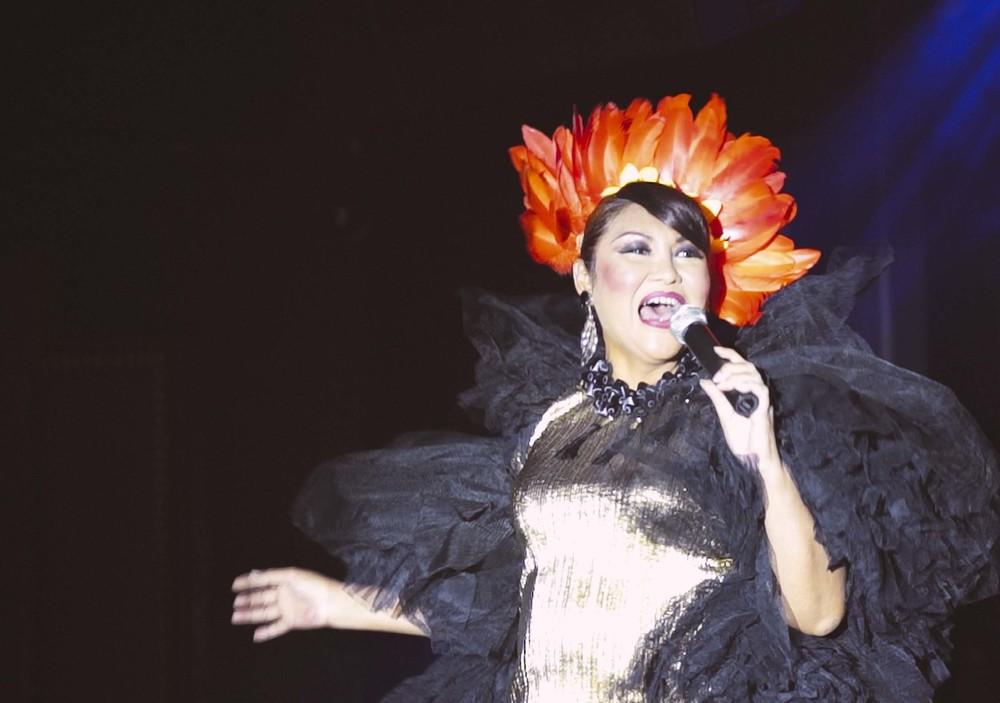 Amy Tashiana in classic ruffles