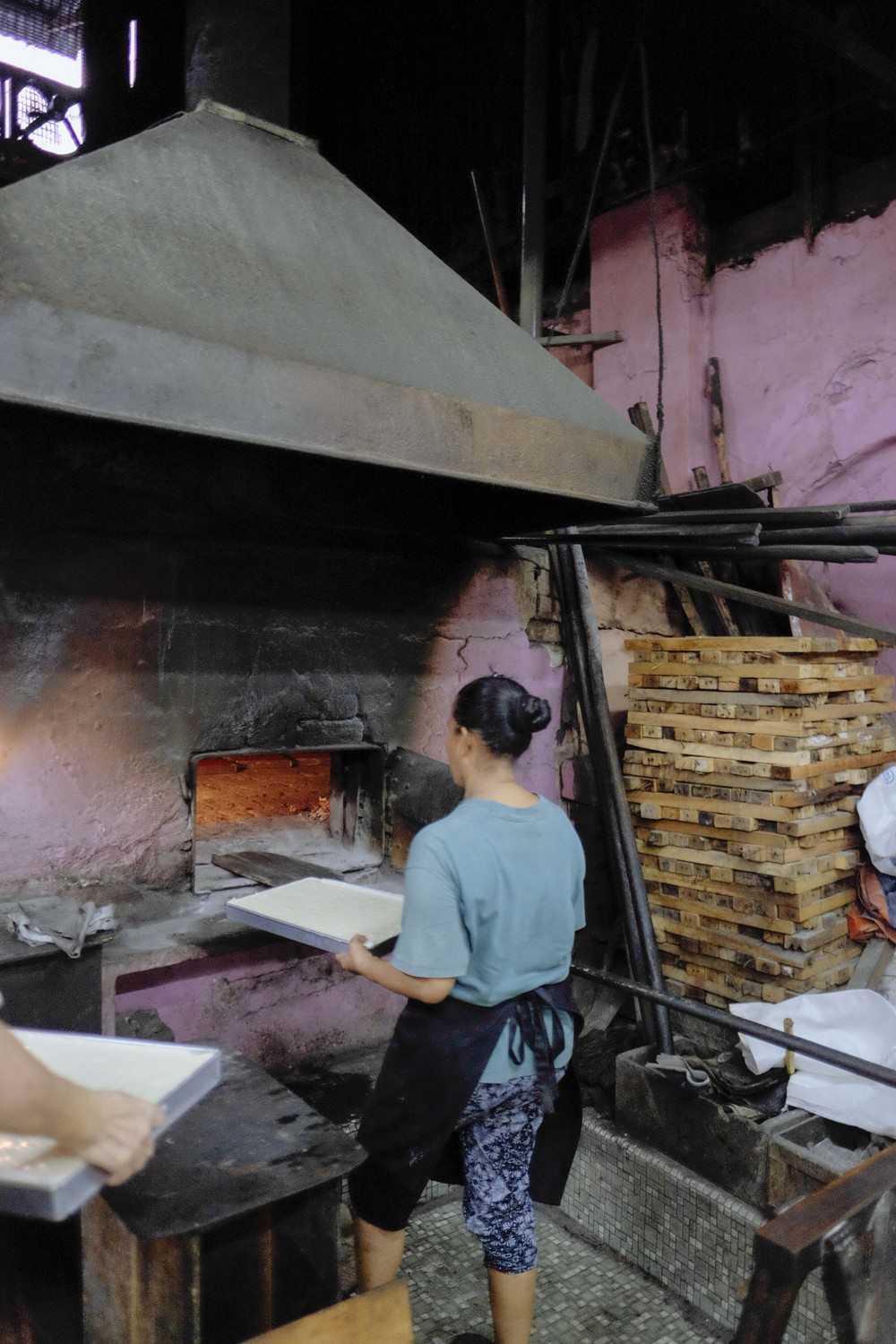 The old wood-fired oven at Hiap Joo