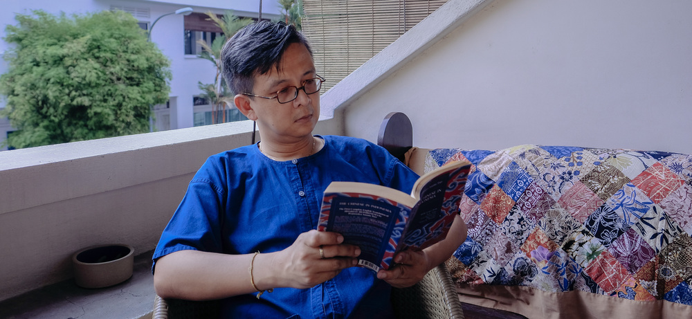 Kelvin feels settled in his place in Tiong Bahru.