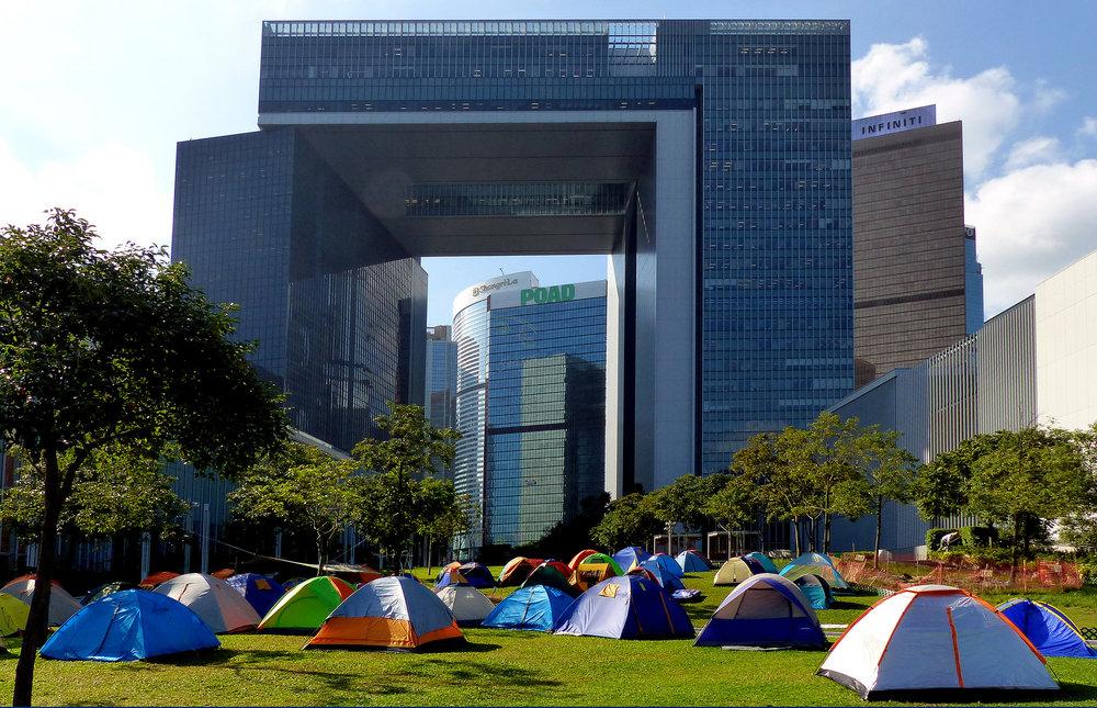 Photo credit: Bernard Spragg, Occupy Central, 2014, CC2.0
