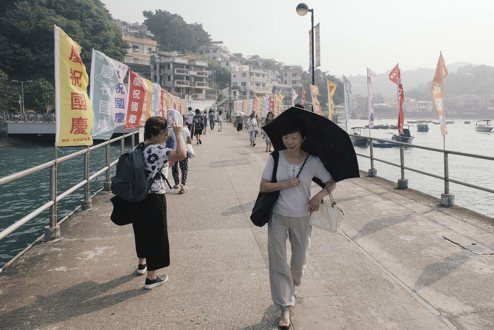 The ferry terminal at Sok Kwu Wan