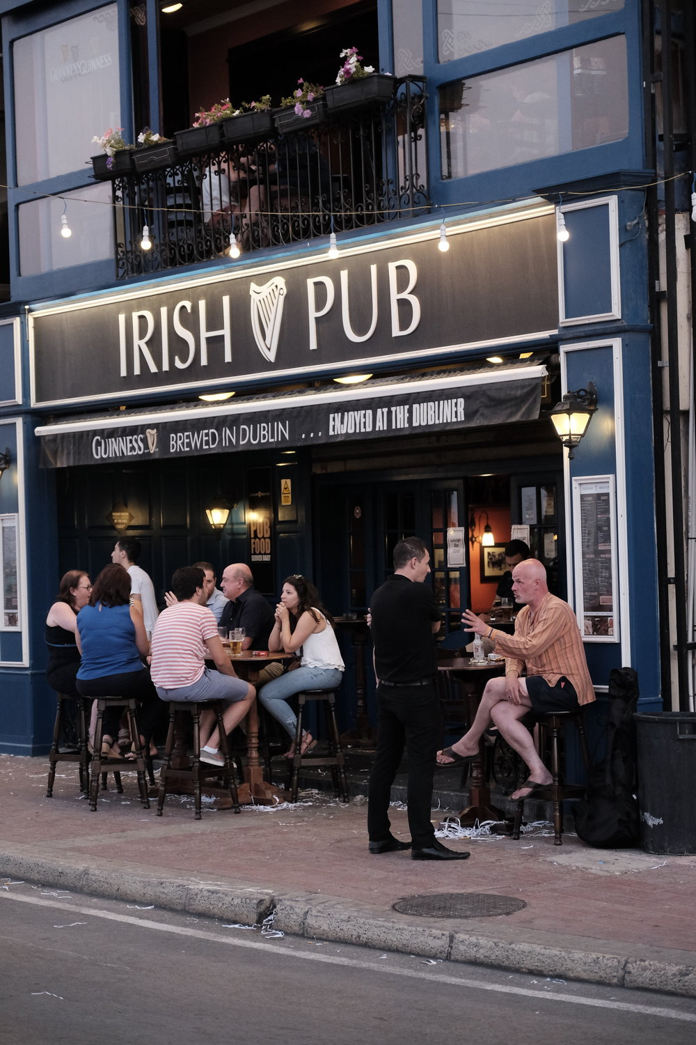 A typical Irish pub found worldwide. This one is in St Julien's in Malta.