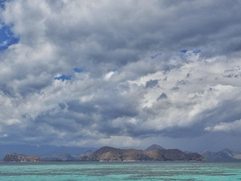 The view from Kanawa Island