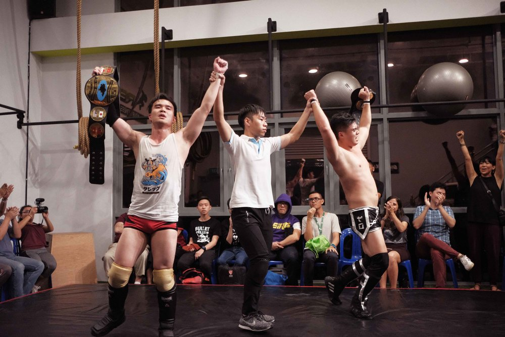 Photo: Marc Nair - Causeway Jam, 16 March 2018, Grapple MAX dojo. Singapore's GST hold on to their title.