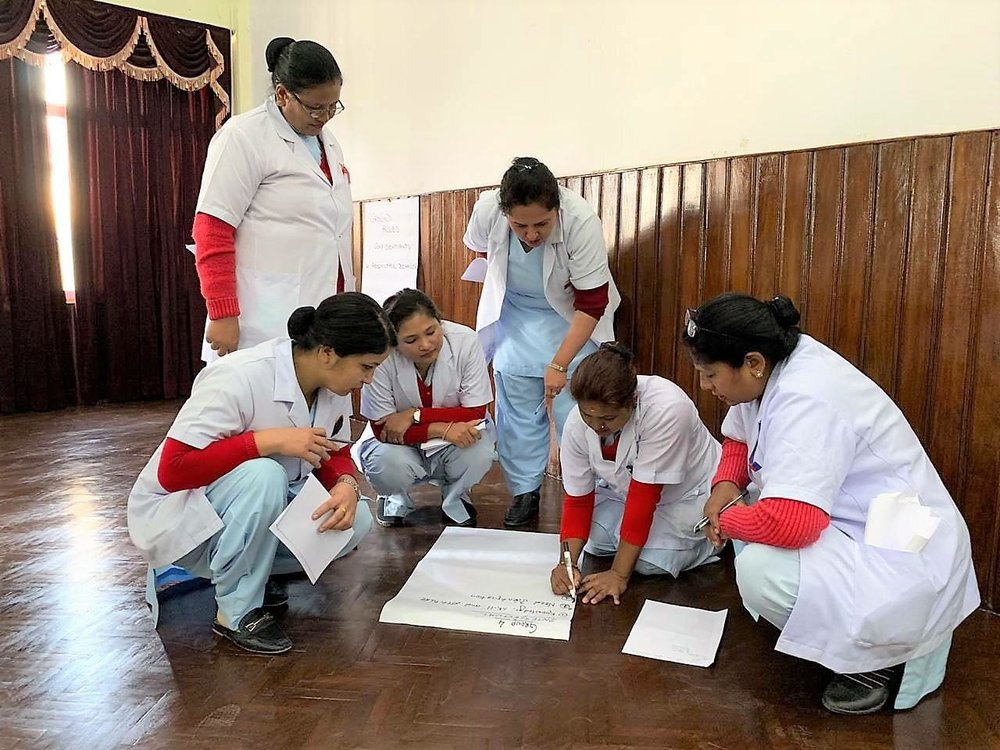 UiH's training programme for nurses at the Nepal Medical College