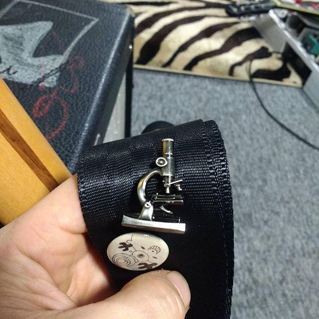 That's a pretty nerdy guitar strap