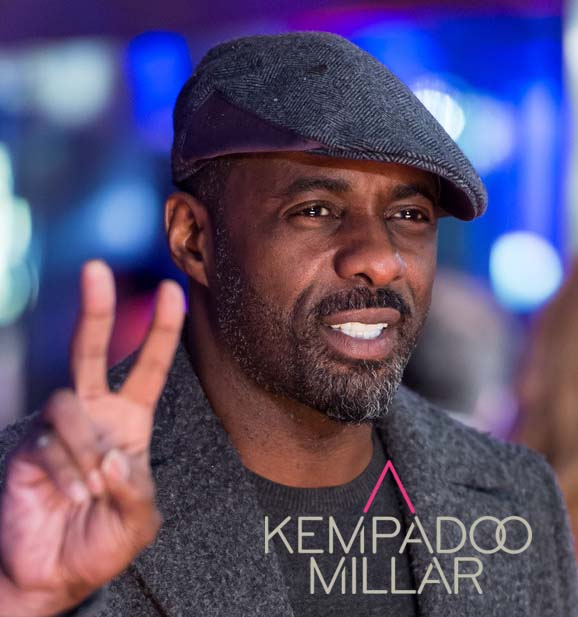 Idris Elba- Actor - 'I Love these Caps'