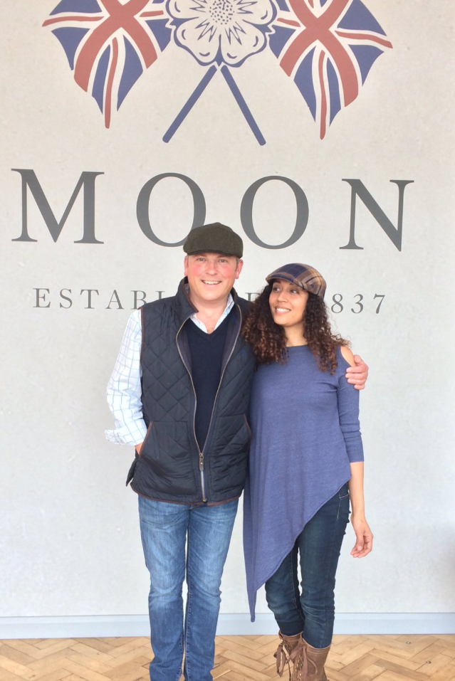 Jules Hudson & Rhian Kempadoo Millar filming Escape to The Country