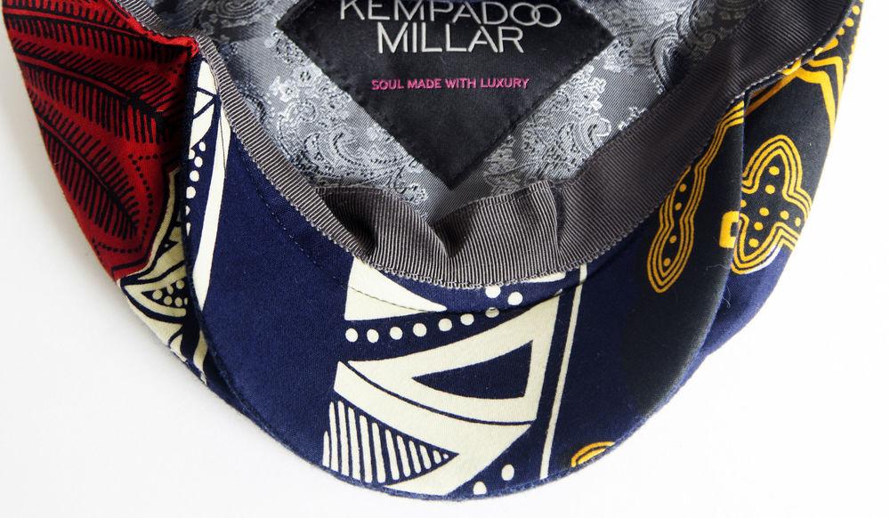 African Print Cap