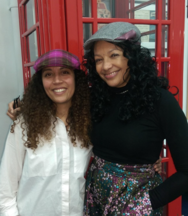 Rhian Kempadoo Millar with Kanya King MBE