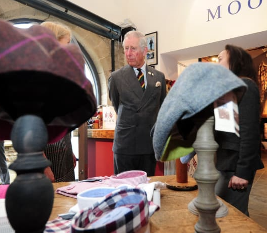 HRH Prince Charles and Kempadoo Caps