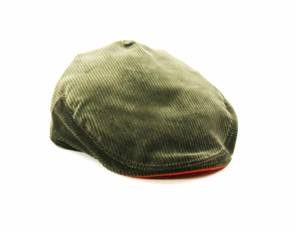 FERN GREEN LUXURY CORDUROY CAP. GREEN CORD FLAT CAP BRITISH MADE KEMPADOO  HEADWEAR 7d65da094a47