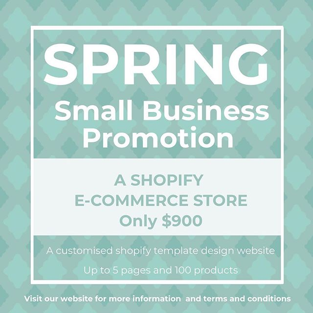 A small business promotion just for you. . 🍃Have you been thinking you would like to take your business online? . 🍃Maybe you want to revamp your current e-commerce site? . 🍃We are offering a new shopify ecommerce site as our Spring Promotion. . 🍃 T&C's apply but if you click on our website link in our profile above, we have a direct link on our homepage that will take you to where you need to be to find out more. . 🍃 We are limited with how many businesses we can take on, so hop to it. . 🍃Promo available to Australian businesses. . . . #newwebsite #shopifysite #shopify #springpromotion #smallbusinessassistant #smallbusinessowners #needhelp #heretohelp #goingonline #shopifystores #shopifystore #sellonline #smallbusinessassistant #virtualassistant #virtualpa