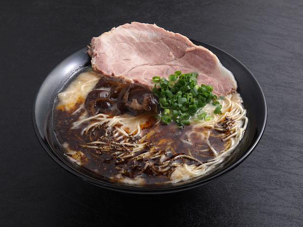 Black Spicy Tonkotsu Ramen ($11.90)